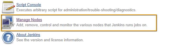 Manage Nodes