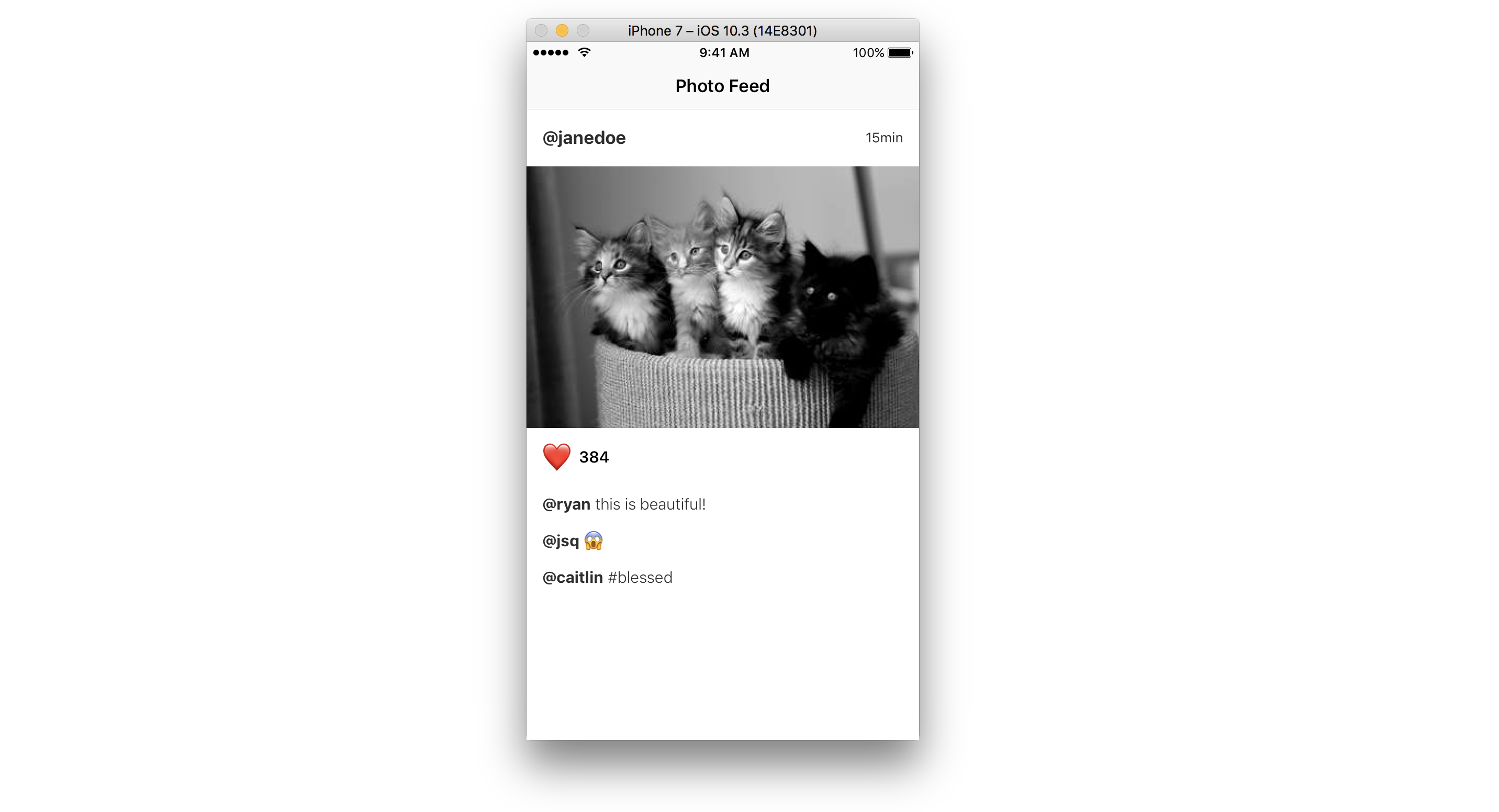 IGListKit/Modeling and Binding md at master · Instagram