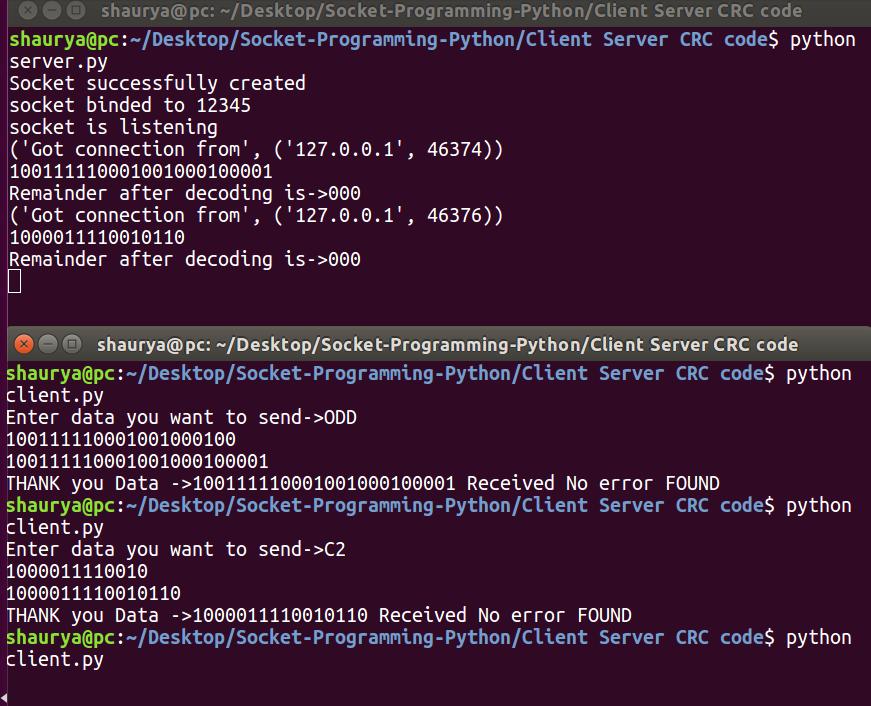 GitHub - shauryauppal/Socket-Programming-Python: Client