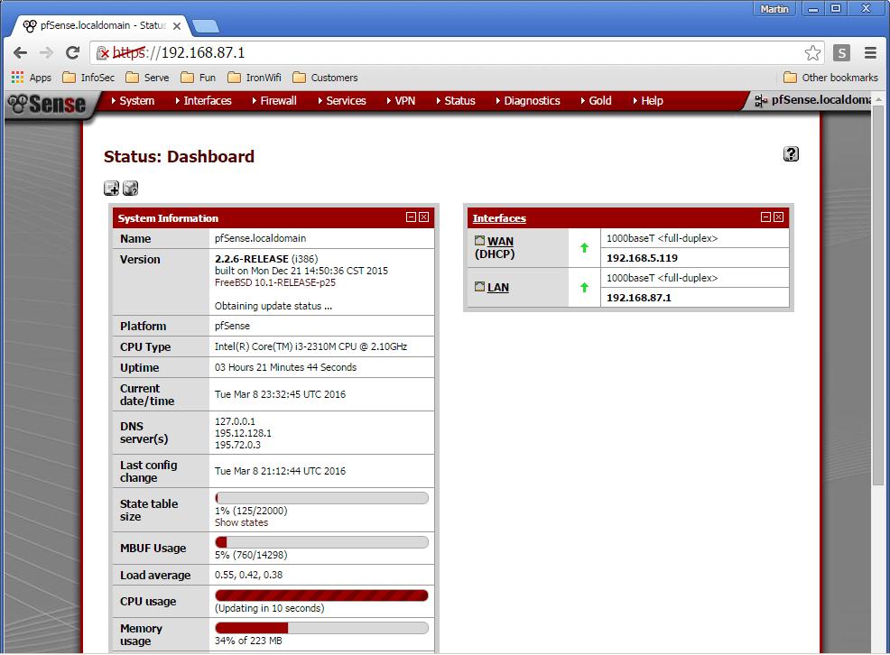 pfSense with Captive Portal – Cloud RADIUS, Captive Portal