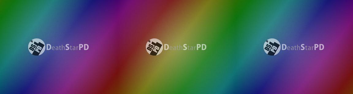 Skew rainbow color effect