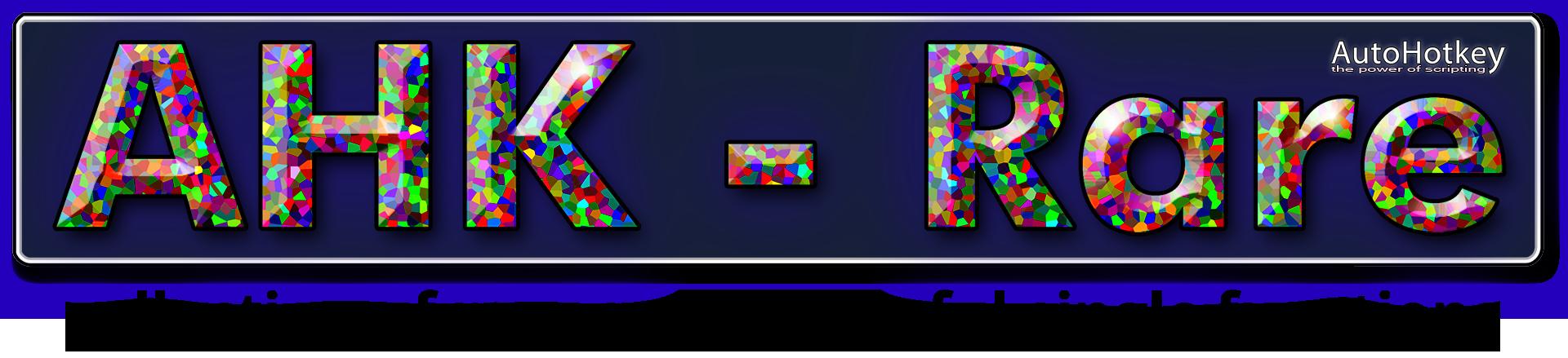 AHK - Rare Logo