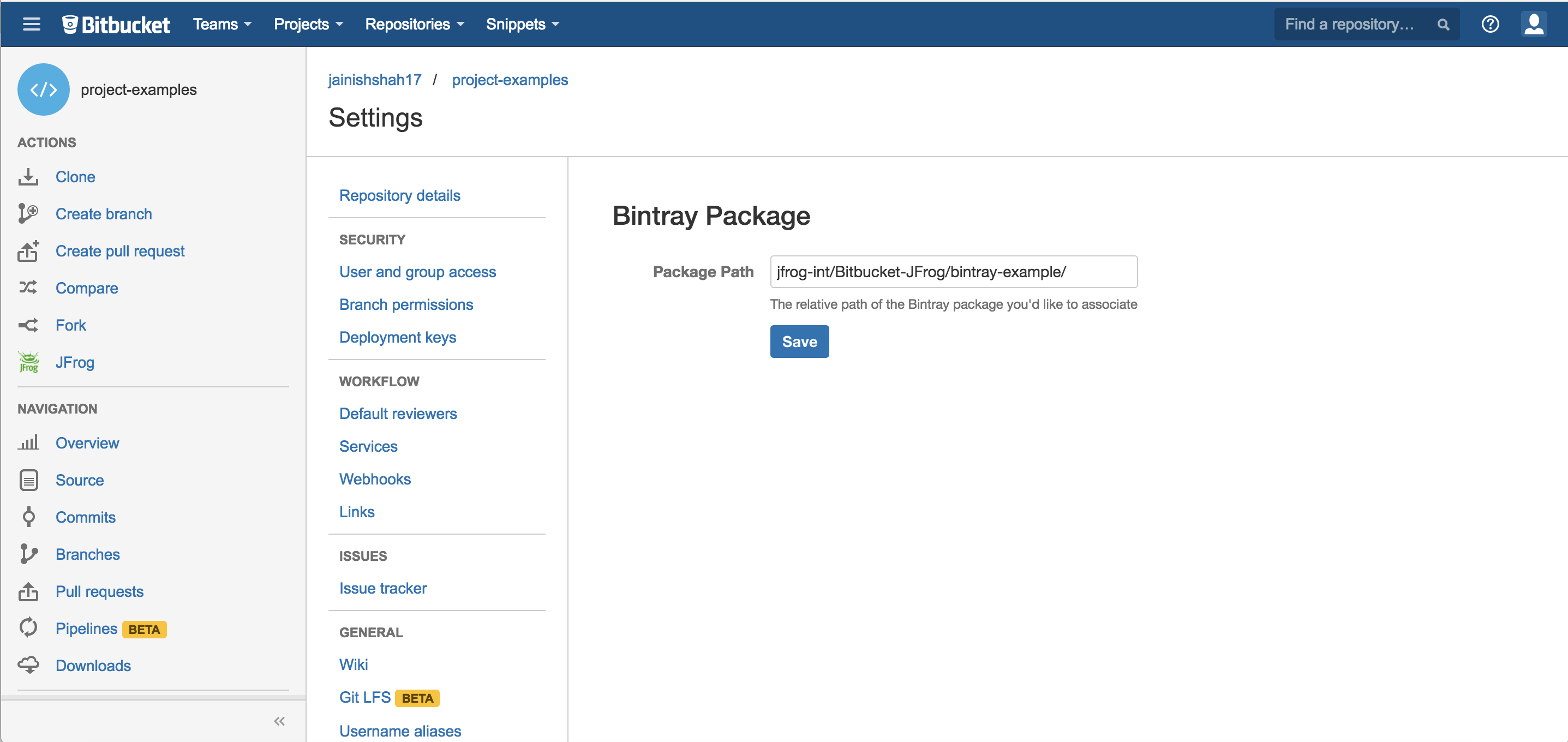 GitHub - jfrog/bitbucket-bintray-plugin