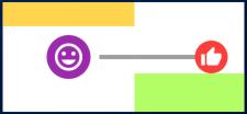 Horizontal icon indicator