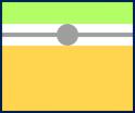 Horizontal manual align indicator