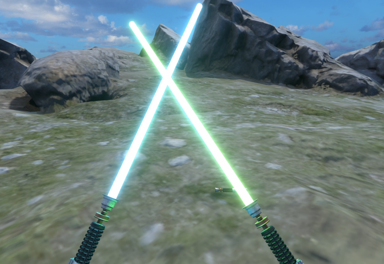 Lightsaber preview