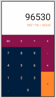 javascript calculator project