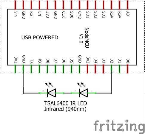 ESP8266 / NodeMCU / Arduino based TV Remote - Community Created