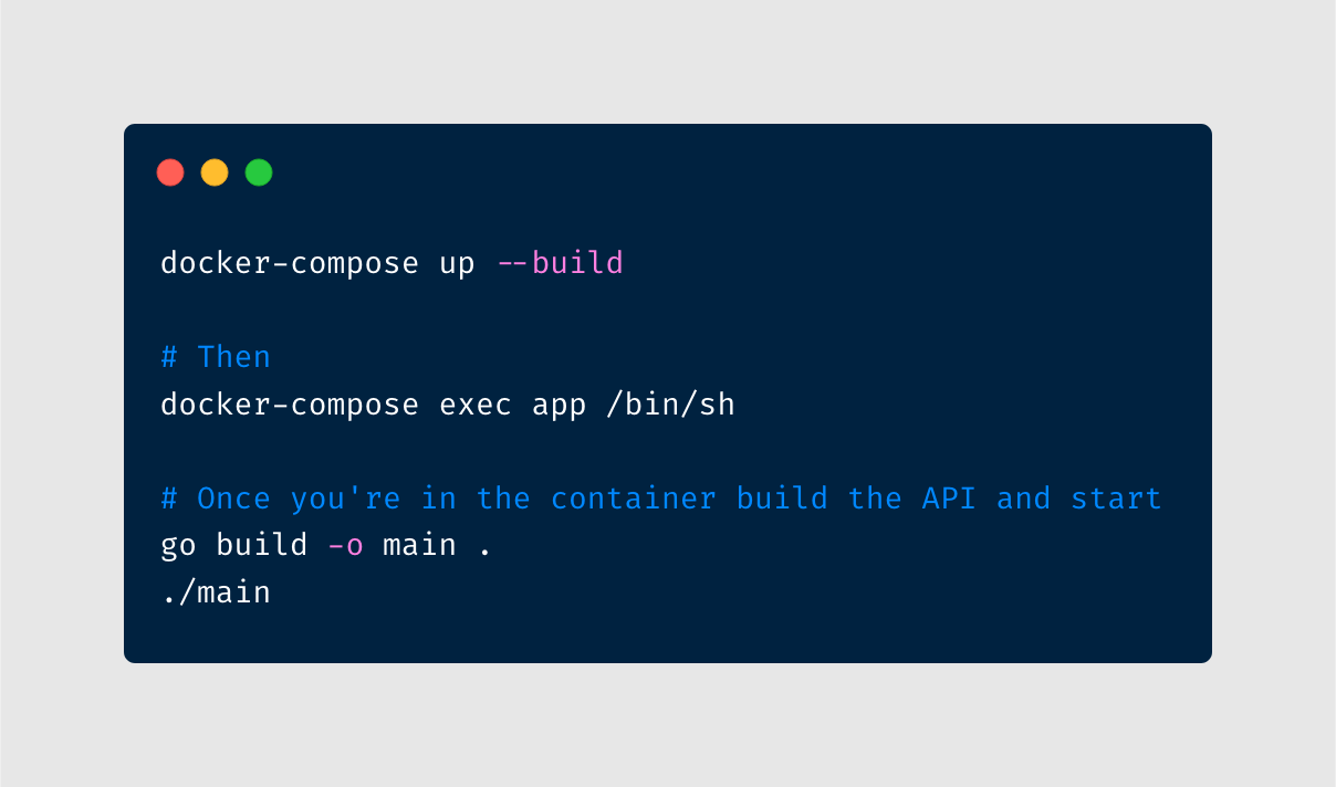 build instructions