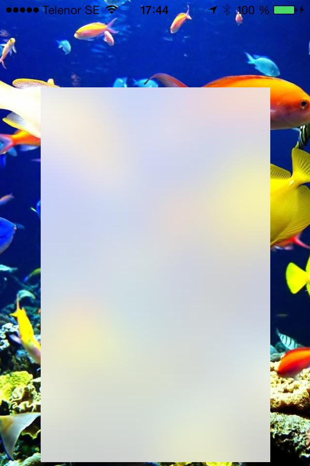 iOS-blur