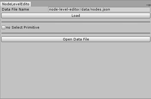 node level editor window