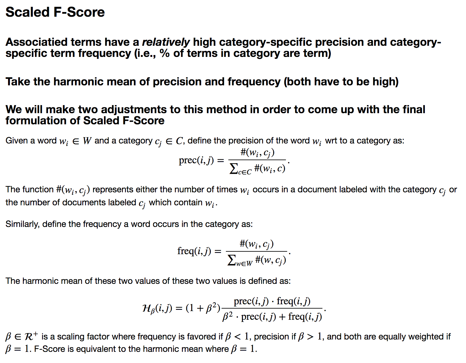 Scaled F-Score Explanation 1