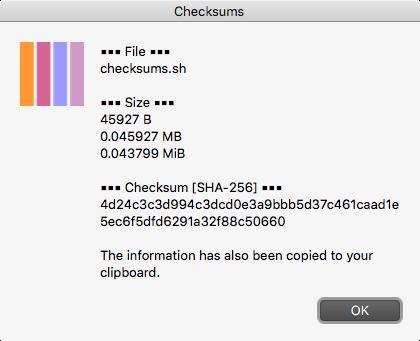checksum-calculated