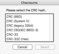 checksum-crc