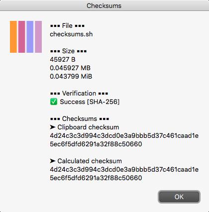 checksum-verified