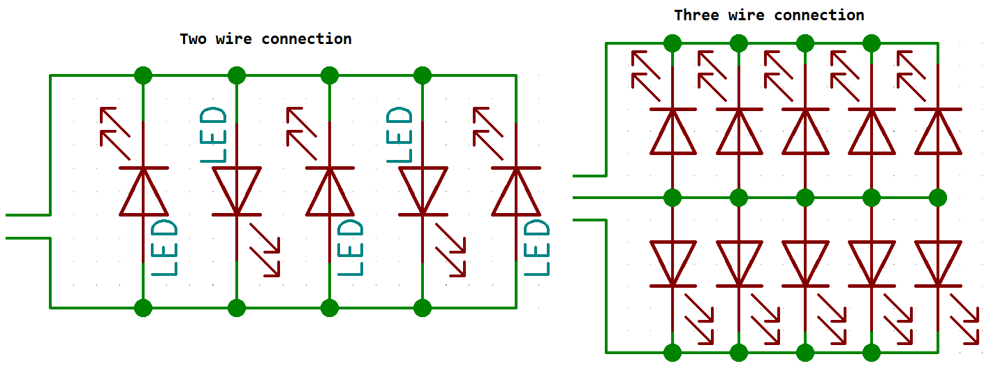 how lights are wired