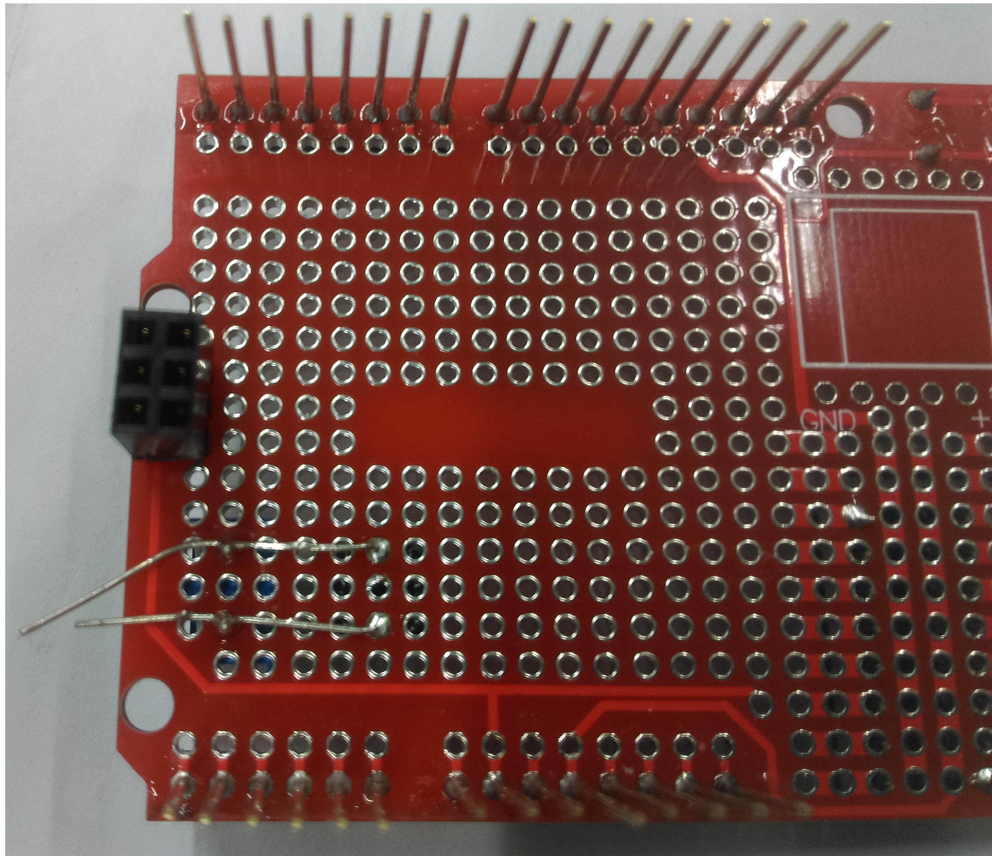 solder in the cap