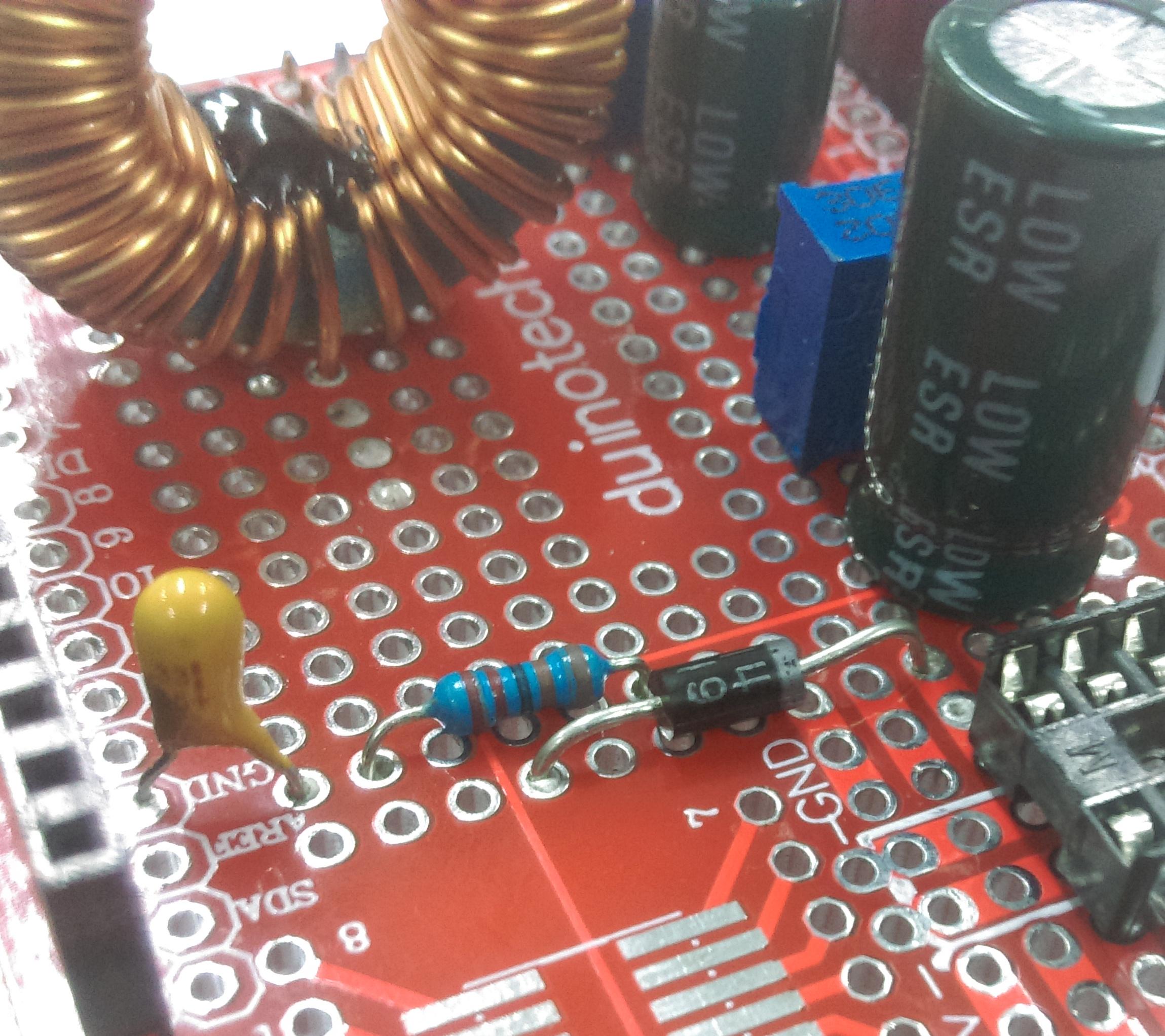 resistor cap combo