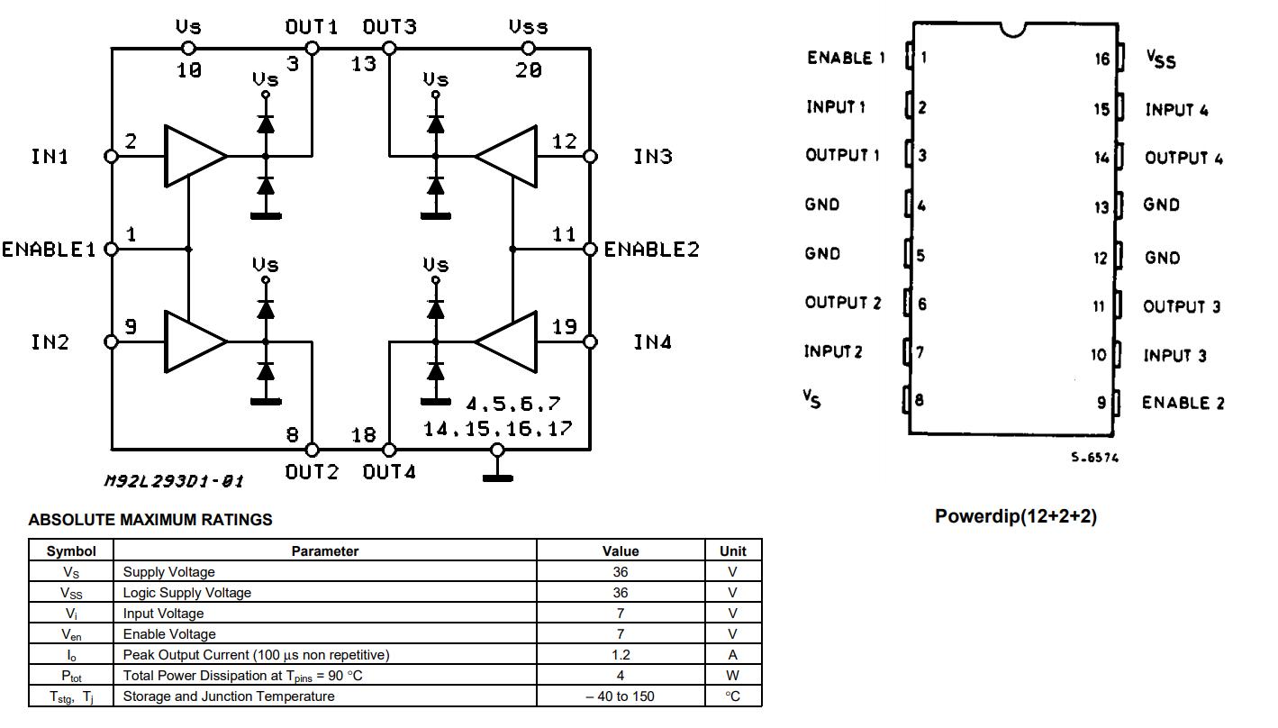motor datasheet