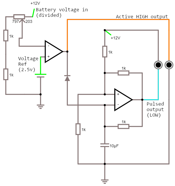 Circuit of op-amp oscillator