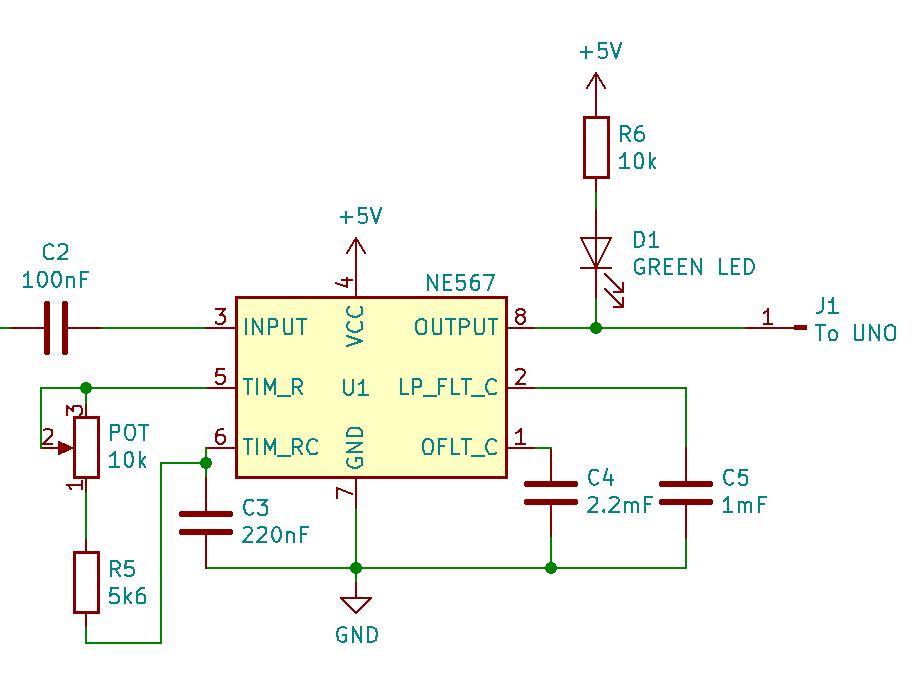 Tone Decoder Circuit
