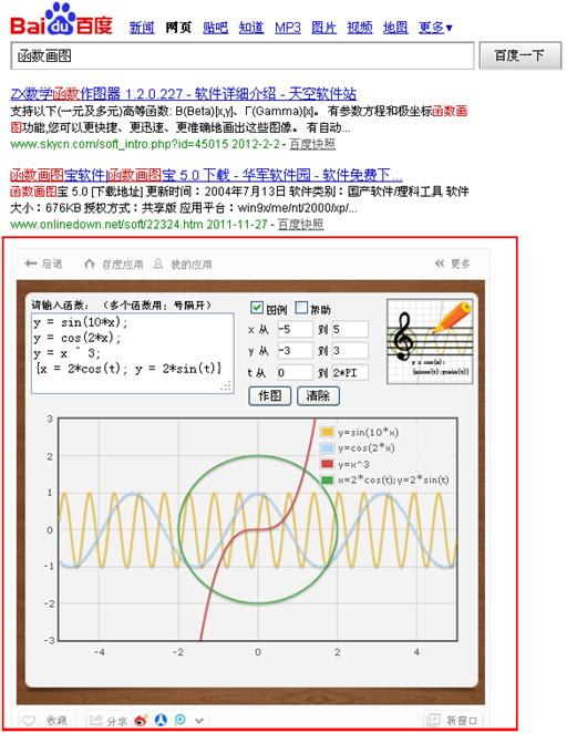 在线函数画图