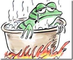温水煮青蛙