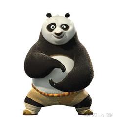 功夫熊猫练太极