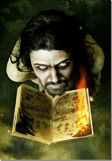 撒旦不解气火烧圣经