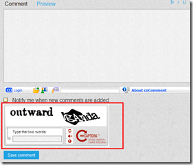 How to make reCaptcha extension work in your BlogEngine.NET