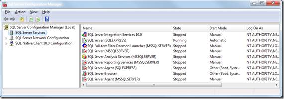 SQL Server Configuration Manager–Cannot connect to WMI provider–Invalid class [0x80041010]