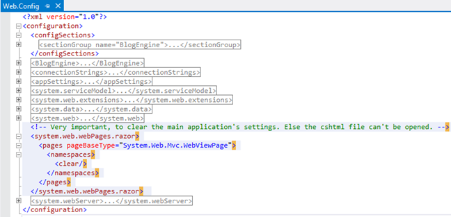Fixed: unable to cast object of type 'asp._page_admin_default_cshtml' to type 'system.web.ihttphandler' error