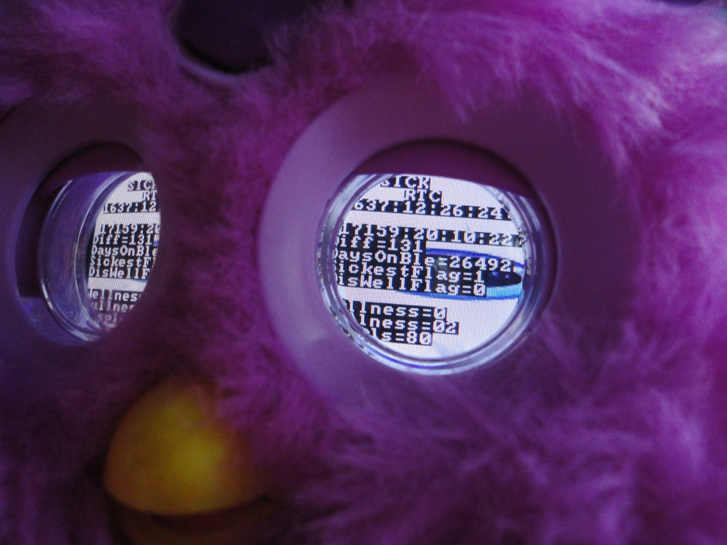 Furby Connect's Eyes