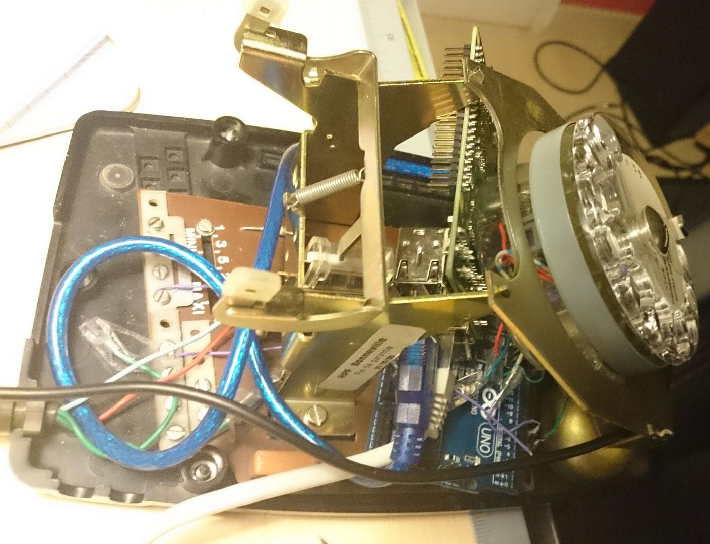 Arduino to RotaryPhone