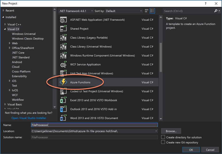 Azure Functions Project