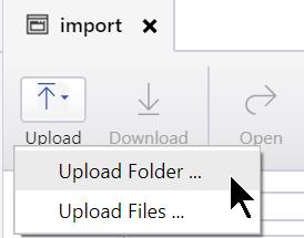 Upload Folder
