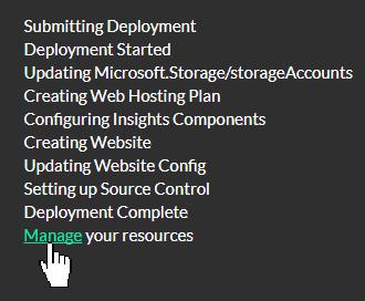 List of Deployment Steps