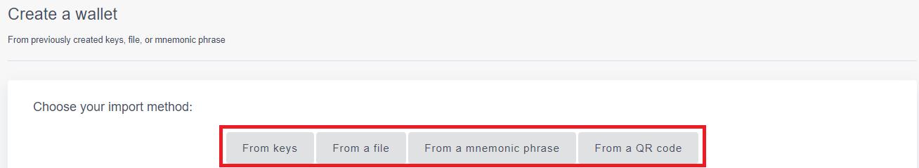 import method