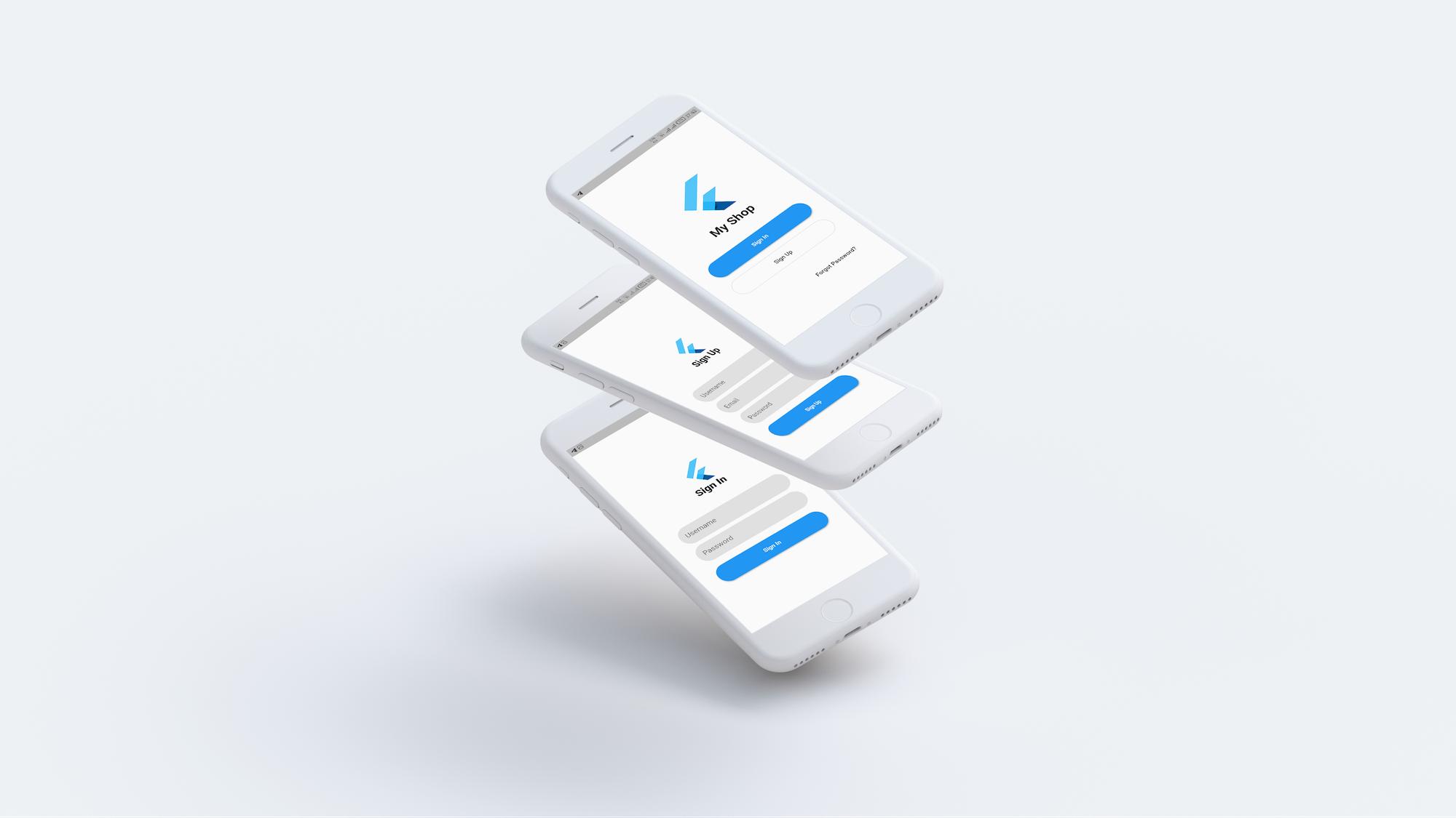 Flutter WooCommerce app - 1