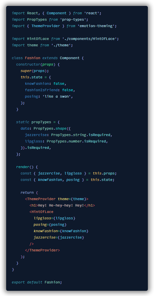 Everset Example with React