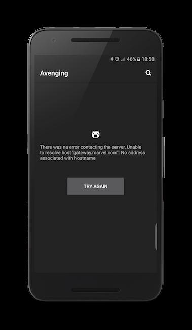 Mobile List Error