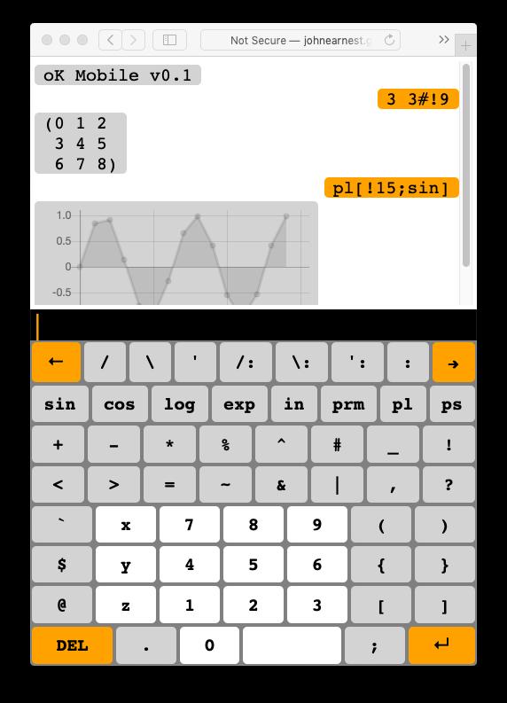 Mobile View Screenshot