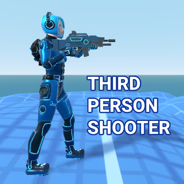 Godot Third Person Shooter's icon