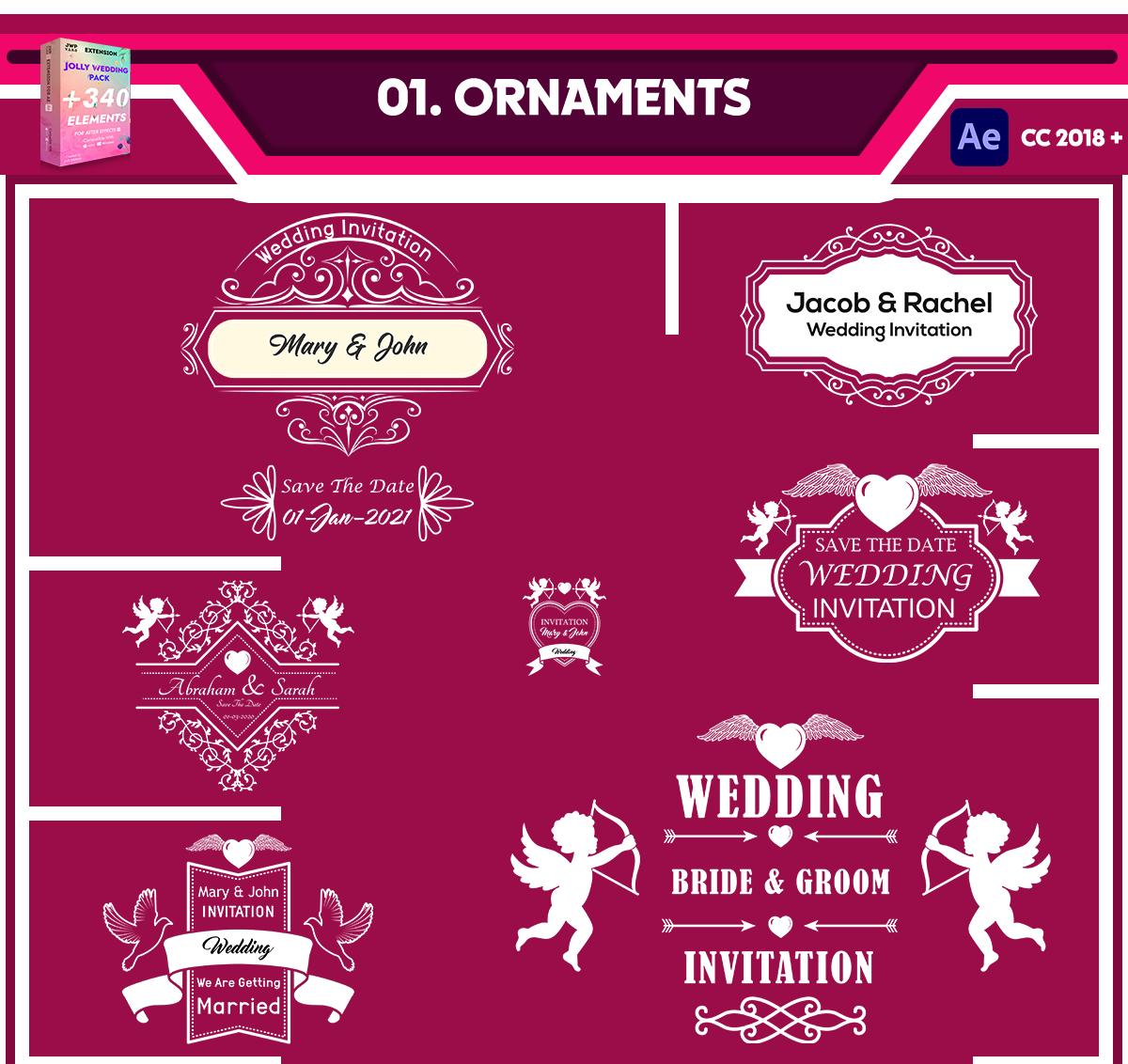 Jolly Wedding Pack - 5