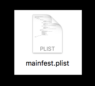 plist 文件