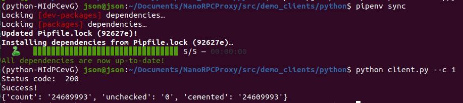 Python demo app