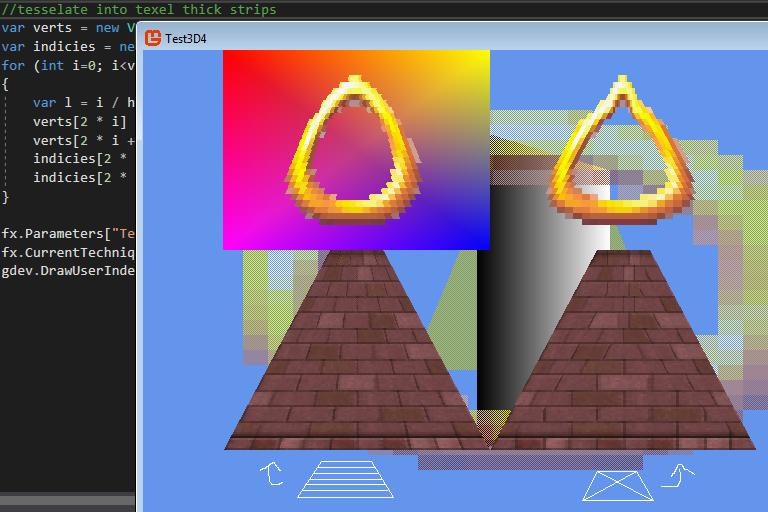 Monogame/HLSL Effect/Shader for Saturn-like graphics