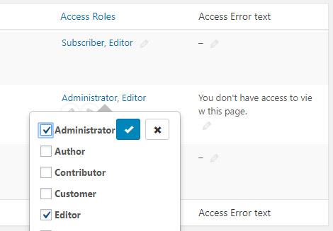 Inline edit (Admin Columns Pro)