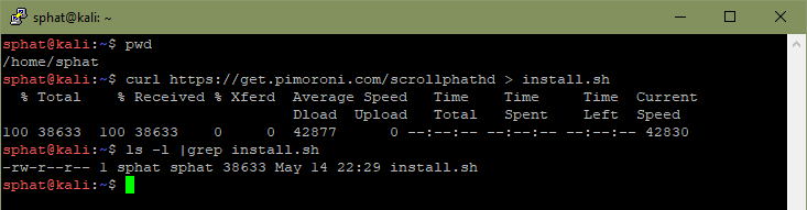 ScrollpHAT Download