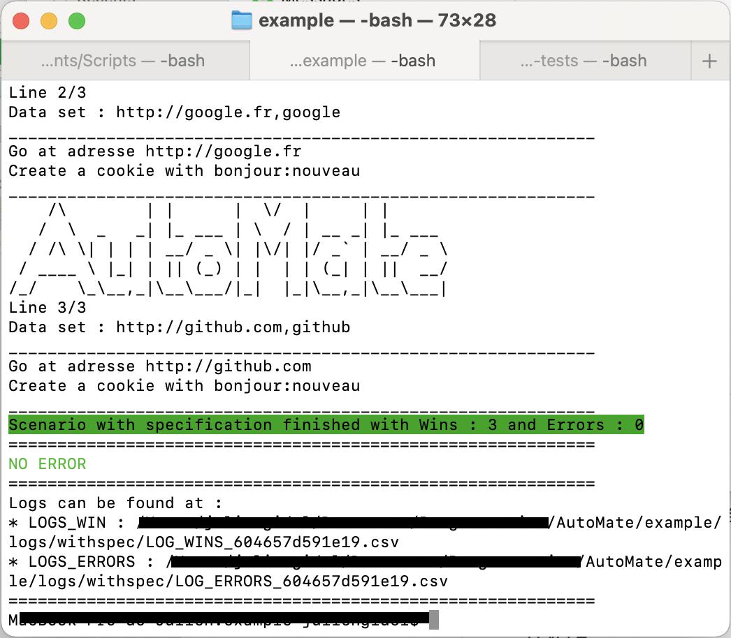 AutoMate Screenshot